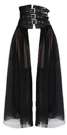 pinterest black tulle skirt