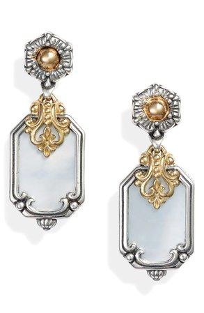 Konstantino Hestia Shield Drop Earrings | Nordstrom