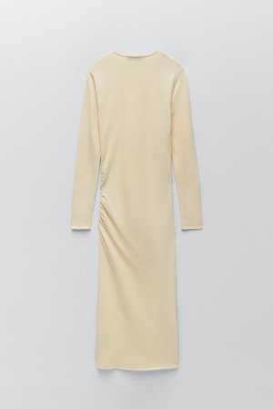 DRAPED KNITWEAR DRESS | ZARA United States
