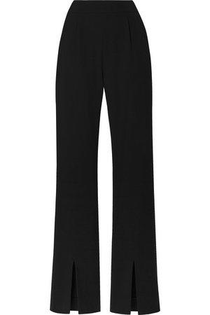 La Collection | Ludovique wool-blend flared pants | NET-A-PORTER.COM