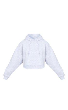 grey hoodie pretty little thing