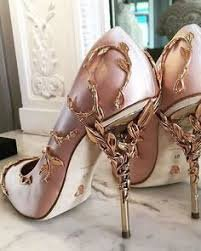 rose gold shoes - Google Search