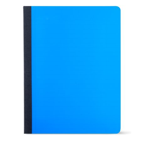 Pen + Gear Poly Composition Book, Wide Ruled, 80 Pages, Blue - Walmart.com
