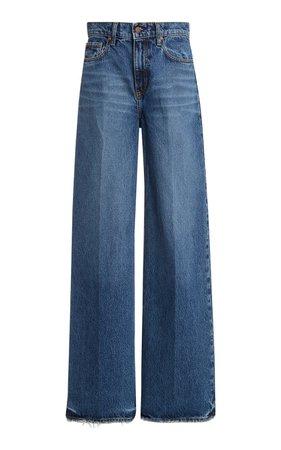 Skylar High-Rise Wide-Leg Jeans by Nobody Denim | Moda Operandi