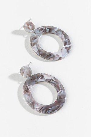 Jaycee Circle Drop Earrings | francesca's