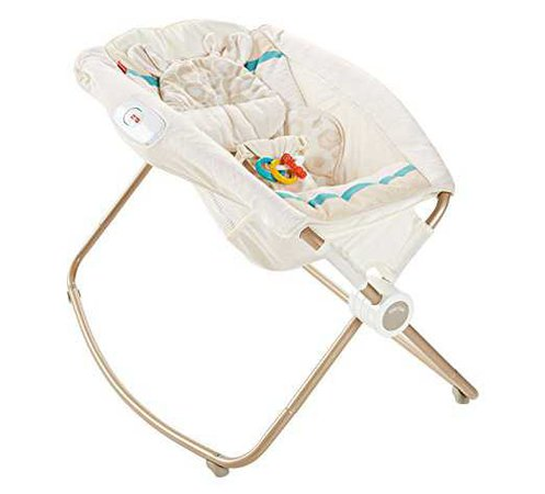 Amazon.com : Fisher-Price Deluxe Rock 'n Play Sleeper, Soothing Savanna : Baby