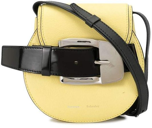 Buckle Detail Crossbody Bag