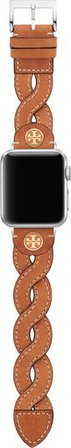 Tory Burch Braided Leather Apple Watch® Strap | Nordstrom