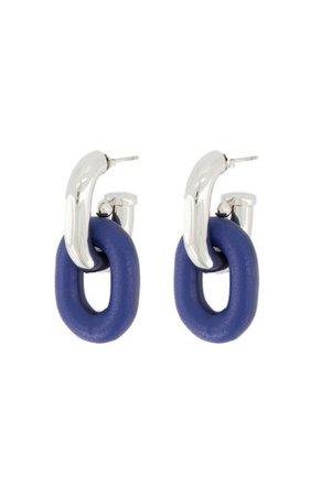 Xl Link Double Hoop Earrings By Paco Rabanne   Moda Operandi