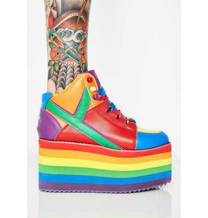 Y.R.U. Qozmo Pride | Dolls Kill