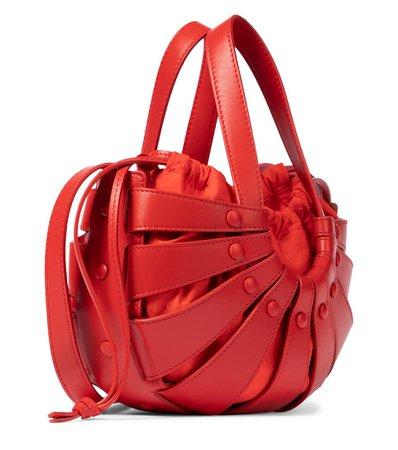 The Shell Small Leather Shoulder Bag   Bottega Veneta - Mytheresa