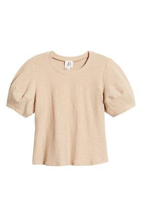 DRA Mojito Textured Puff Sleeve T-Shirt | Nordstrom