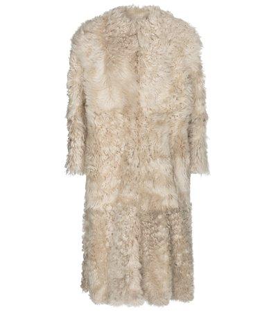 Isabel Marant - Geltonia shearling coat   Mytheresa