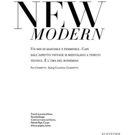 new modern text