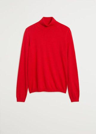 Turtleneck sweater - Woman   Mango Canada