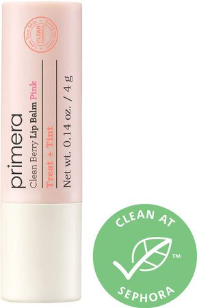 Primera - Clean Berry Lip Balm