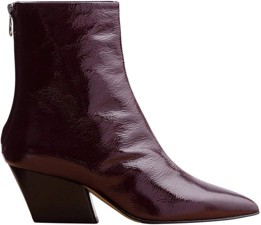 Aeyde Patent Leather Boots