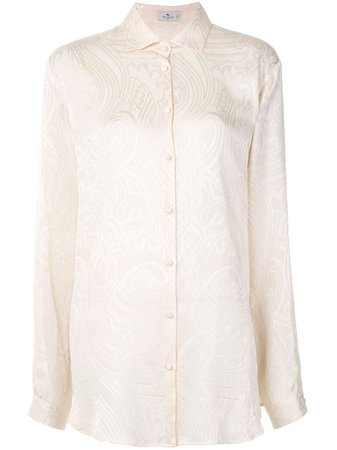 Etro Paisley Brocade Shirt - Farfetch