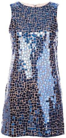 Alice+Olivia sequins embellished dress