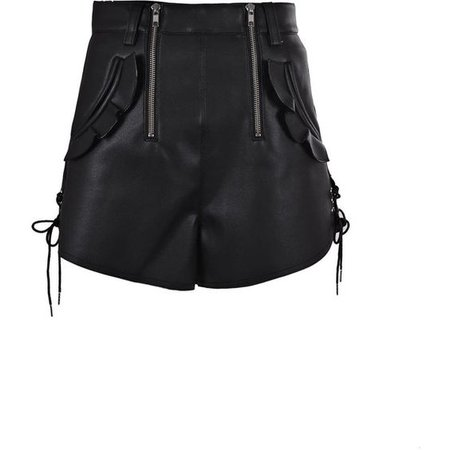 Double Zip Shorts