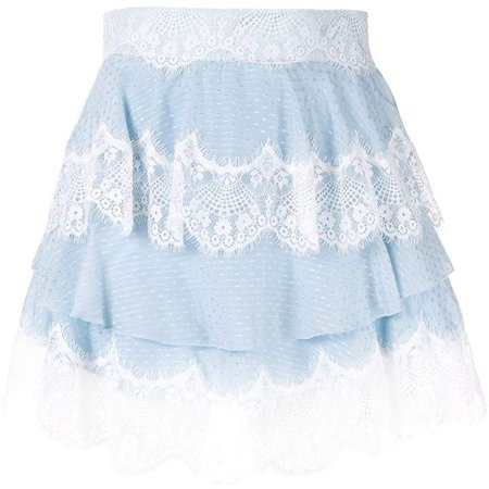Divine Sister tiered lace skirt