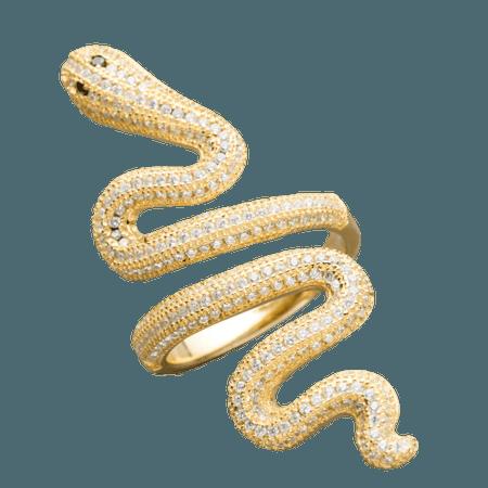 Taylor Swift Gold Snake Ring