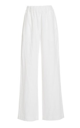 Linen Wide-Leg Pants By Matin | Moda Operandi