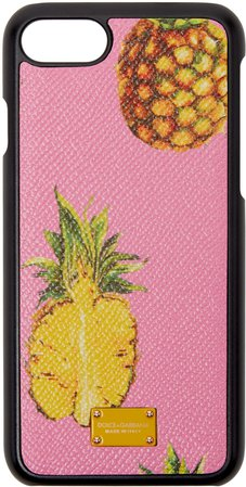 dolce by dolce and gabbana, Dolce & Gabbana Pink Pineapple iPhone 7 Case women,dolce and gabbana sale, dolce and gabbana earring factory wholesale prices