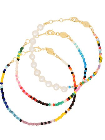 Anni Lu Baja And Alaia Beaded Bracelet Set
