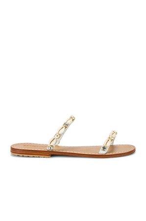 Shell Strap Sandal