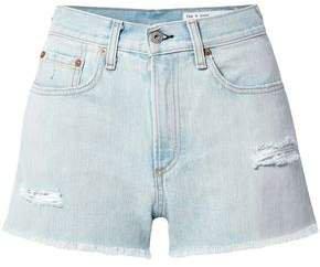 Justine Distressed Denim Shorts