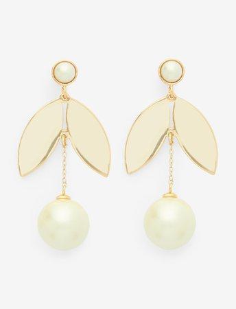 Pearl Petal Earrings – Draper James