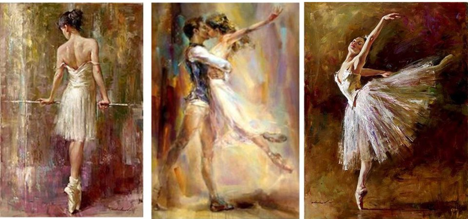 painting ballet,