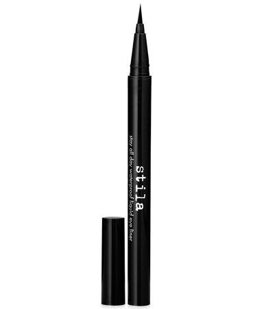 8 eyeliner Stila Stay All Day Waterproof Liquid Eye Liner & Reviews - Makeup - Beauty - Macy's
