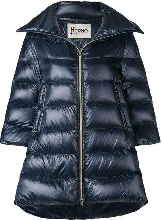 Padded Zipped Coat