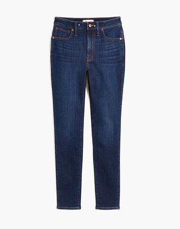 Curvy High-Rise Skinny Jeans in Woodland Wash: TENCEL™ Denim Edition