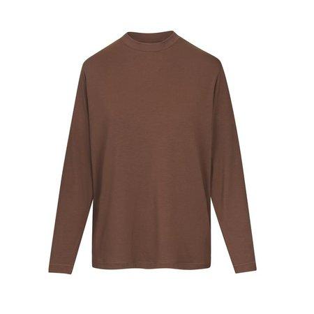 Boyfriend Long Sleeve T-Shirt - OXIDE   SKIMS