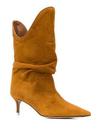 The Attico Pointed Slouched Boots - Farfetch