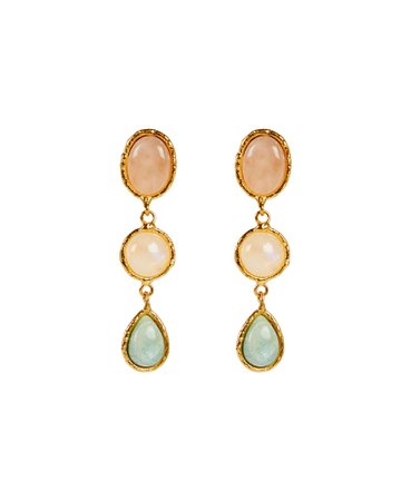 Sylvia Toledano   Cascade Stone Drop Earrings   INTERMIX®