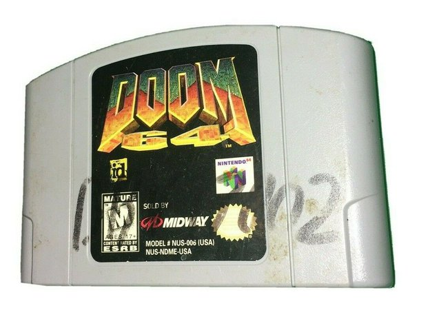 Doom 64 (Nintendo 64, 1997) CARTRIDGE ONLY   eBay