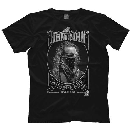 All Elite Wrestling Hangman Adam Page - Cowboy S*%t Shirt AEW