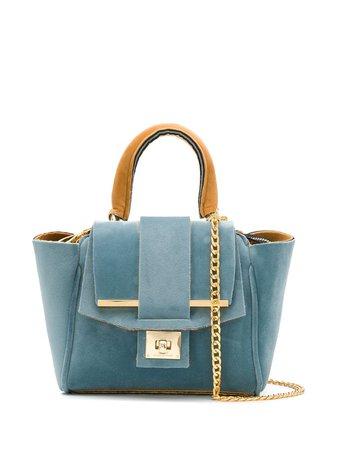 Alila Small Venice Tote Bag VENICESLIGHTBLUECARAMEL Blue | Farfetch