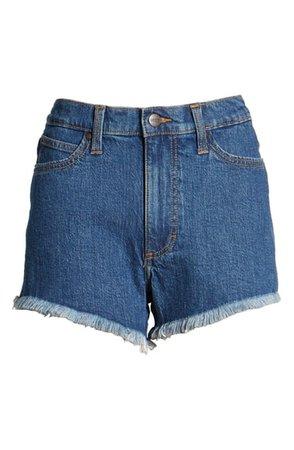 Wrangler High Waist Cutoff Denim Shorts (Maralyn) | Nordstrom