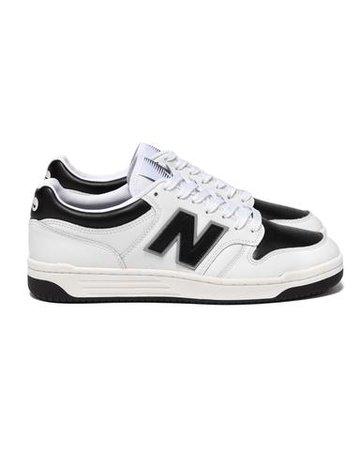 x New Balance BB480LMA White/ Black   HAVEN