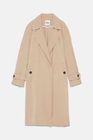 FLOWY TRENCH COAT WITH POCKETS - View All-COATS-WOMAN | ZARA Canada