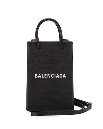 Balenciaga Shopp Phone/Crossbody Bag