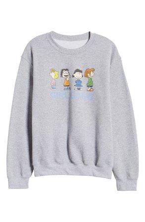 GIRL GANG x Peanuts® Sweatshirt (Nordstrom Exclusive) | Nordstrom