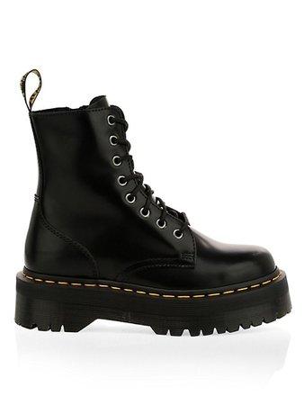 Dr. Martens Jadon Leather Combat Boots | SaksFifthAvenue