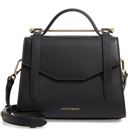 Strathberry Mini Allegro Calfskin Leather Tote | Nordstrom