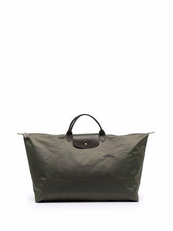 Longchamp Large Le Pliage Green Travel Tote Bag - Farfetch